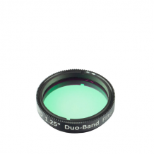 "ZWO 1.25"" Duo-Band Narrow Band Nebula Filter"